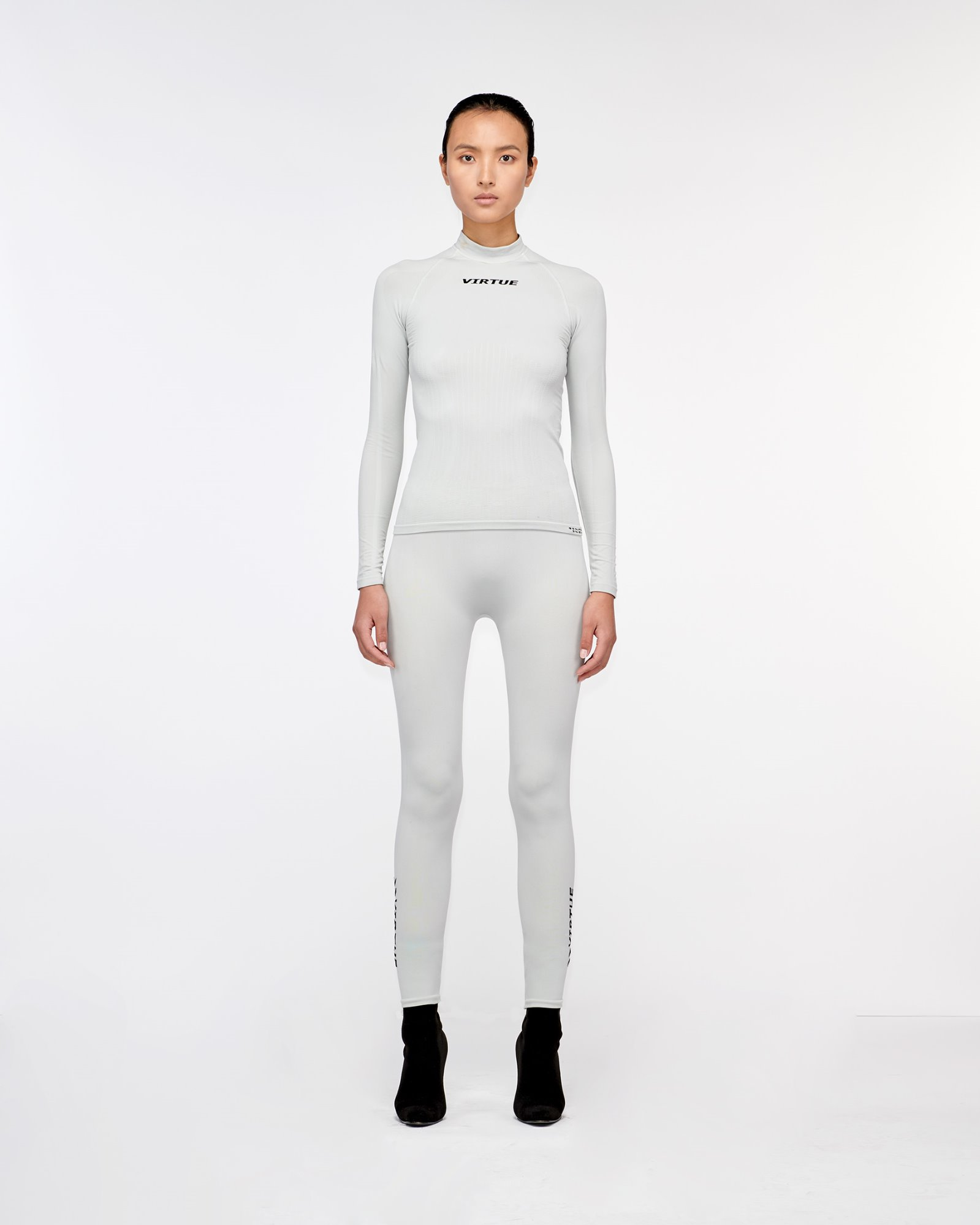 """BEVERLY HILLS"" SEAMLESS LEGGING SILVER"