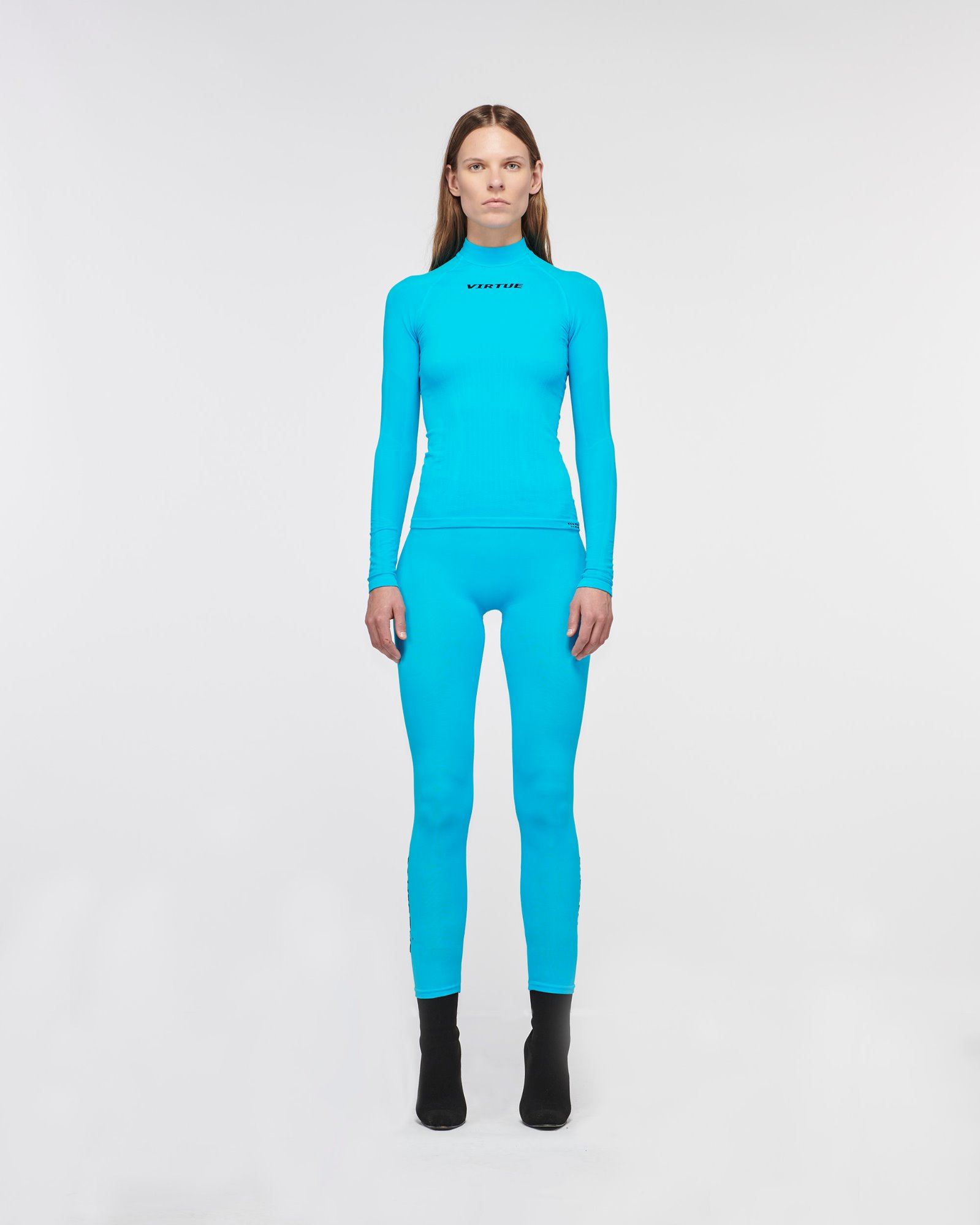 """BEVERLY HILLS"" SEAMLESS LEGGING TURQUOISE"